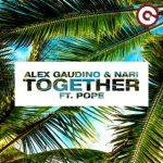 alex gaudino together